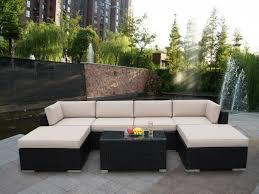 Contemporary Patio Furniture Sectional Sofa Outdoor Patio Sets Contemporary Outdoor Patio