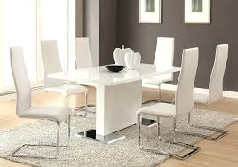 formal dining room sets for 8 the glamorous modern dining