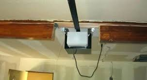 low clearance garage door opener low ceiling garage door opener low headroom munity forums zero headroom