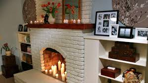 how to paint a brick fireplace transforming old brickwork fireplaceantles diy doctor