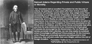 Samuel Adams Foundation Truths Magnificent Samuel Adams Quotes