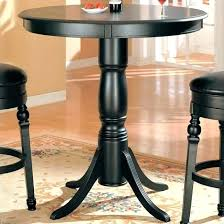 bistro pub table set round pub table set and chairs inch tall top pedestal zenvida 5 bistro pub table
