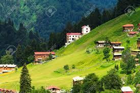 Gebirgshäuser In Ayder Plateau, Rize, Türkei. Lizenzfreie Fotos, Bilder Und  Stock Fotografie. Image 22683369.