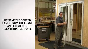 Nifty Anderson Retractable Screen Door 73 In Stunning Home Interior ...