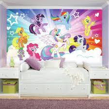 my little pony cloud xl chair rail prepasted