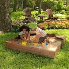 kidkraft sandbox with canopy canada instructions backyard how much sand
