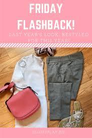 Friday Flashback | Polished casual, Grey trousers, White shirt