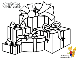 Cool Coloring Pages To Print Christmas