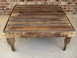 square reclaimed wood coffee table inspirational home decorating of perfect coffee table coffee table square wood