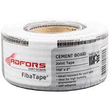 fibatape alkali resistant 2 in x 150 ft self adhesive mesh cement board tape