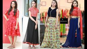 Kurta Designs In Nepal Simple And Beautiful Lehenga Dresses And Kurti Designs For Girls By Alankarana