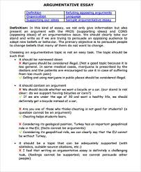 essay sample in pdf examples in pdf sample argumentative essay