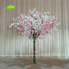 gnw bls1605005 artificial tree branch wedding decoration centerpieces with pink cherry blossom