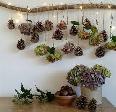 Eco Craft Floral Inspired Christmas Hanging Decorative