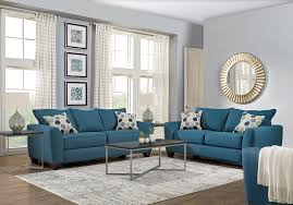 Studio living room furniture Modern Rustic Apartment Shop Now Bonita Springs Blue Pc Living Room The Residence At Valley Farm Living Room Sets Living Room Suites Furniture Collections