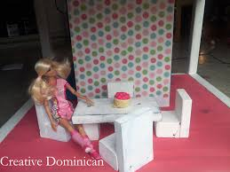barbie furniture diy. Barbie Doll House Plans And Diy Furniture From A Shelf With