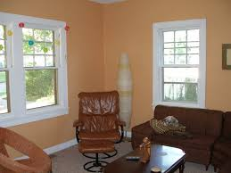 Peach Paint Color For Living Room Benjamin Moores Ansonia Peach Okay While Im Not Particularly