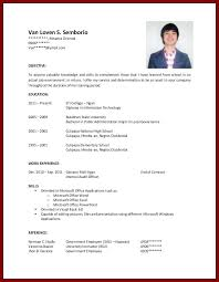 College Student Resume No Experience Template Current For With
