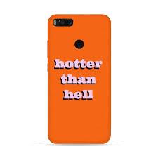 Designer Hell Hotter Than Hell Designer Mobile Case For Mi A1