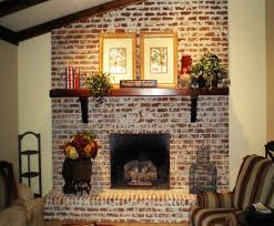 fix my room series how to freshen up a brick and mortar fireplace lenore frances interiors