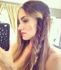 video coaca inspired fishl braid hair tutorial