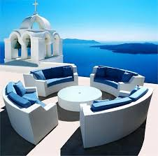 outdoor rounded sectional elegant white round wicker sectional sofa outdoor patio furniture home ideas philippines home appliances ideas