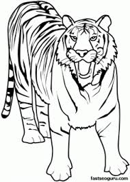 Small Picture Printable Animal tiger of africa coloring pages Printable