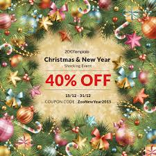 big from joomla and wordpress providers on xmas new year zootemplate coupon noel