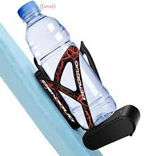 Water Cage Drink Bottle Rack Nylon Fiber Holder Black Bracket ...