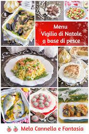 Menu Vigilia di Natale a base di pesce 10 ricette facili