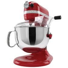 kitchenaid professional 600 lift bowl stand mixer 6qt 575 watt empire red stand mixers best canada