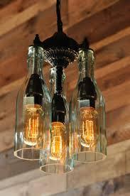 Wine Bottle Light Fixture 47 Best Lighting Images On Pinterest Bottle Lights Bottle And