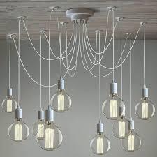 bare bulb filament pendant aged steel edison bulbs lighting
