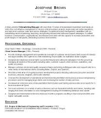 Customer Service Resume Objective Statement Gentileforda Com