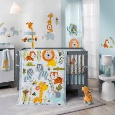 dena happi jungle 4 piece crib bedding