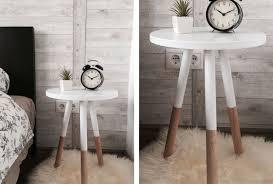 bedroom decorating ideas diy. Modren Ideas 2 Two Toned Nightstand For Bedroom Decorating Ideas Diy D