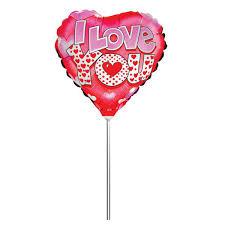 <b>Action</b>! <b>Шар</b> фольгированный на палочке I Love You - купить в ...