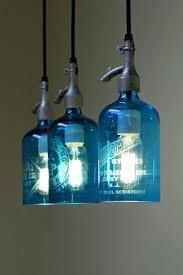 blue hanging lights blue pendant light