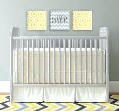 yellow and gray crib bedding grey and yellow nursery gray and yellow imagination squares canvas wall yellow and gray crib bedding