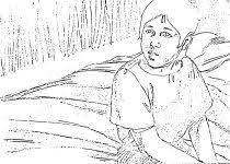Small Picture baby samuel coloring page az coloring pages joshua coloring page