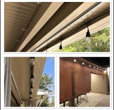 How To Hang String Lights On Aluminum Patio Cover Pin On Alumawood Patio Products