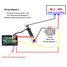 ammeter shunt wiring diagram new digital volt amp meter wiring volt amp meter wiring diagram ammeter shunt wiring diagram elegant blue red led mini digital voltmeter ammeter mayitr amp volt meter