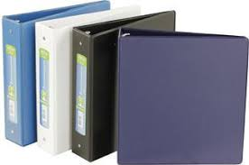 2in Binder Hilroy Plus Binder 2 In Assorted Colours