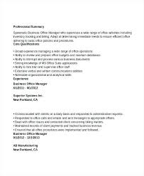 Resume For Healthcare Business Office Manager Resume Sample Socialum Co