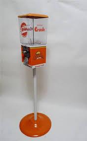 AA Vending Machine Unique AA ORANGE CRUSH SODA GUMBALL CANDY NUTS VENDING MACHINE METAL