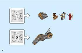 LEGO 70672 Cole's Dirt Bike Instructions, Ninjago