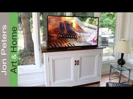 hidden television furniture. how to build a hidden tv lift cabinet television furniture l