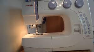 Обззор швейной машины <b>Janome VS56s</b> - YouTube