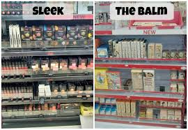 sleek makeup the balm are now in target