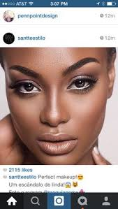 white eyeliner with natural makeup makeup inspo makeup trends makeup for black skin
